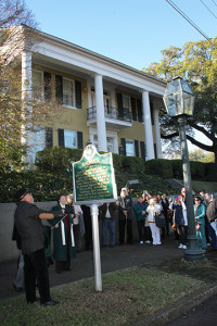 Unveiling of Anchuca Historical Marker